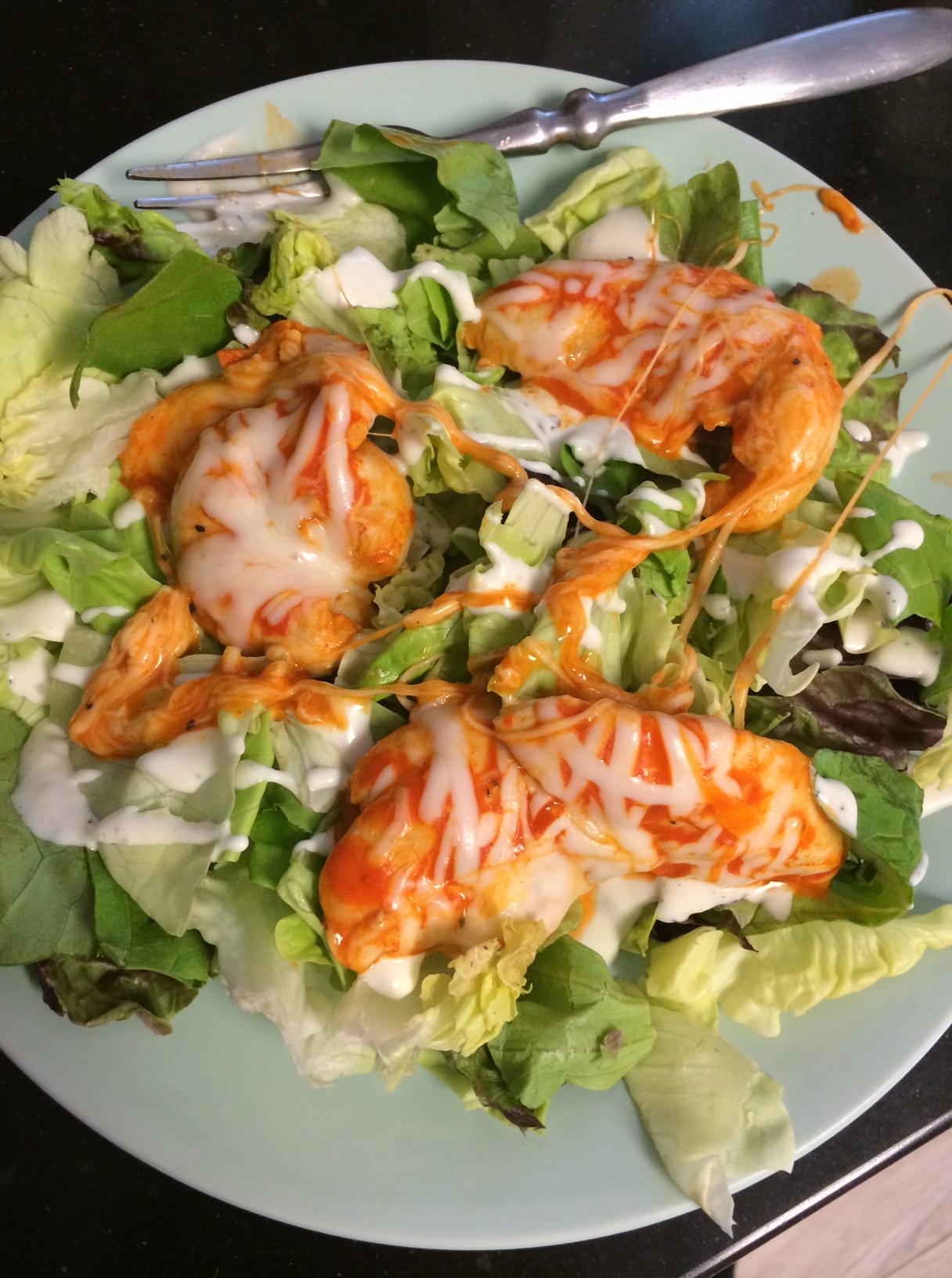 Keto Quick Fix Buffalo Chicken Salad Complete Keto