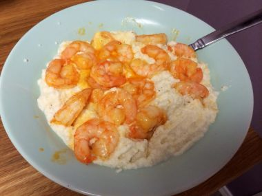 Shrimp cauliflower